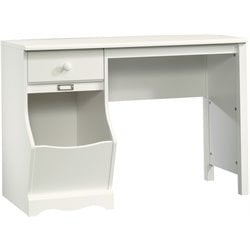 Desk in Soft White Finish