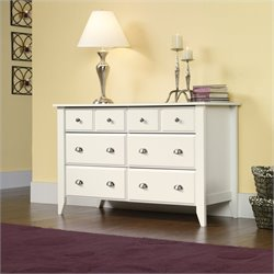 Sauder Shoal Creek Dresser in Soft White