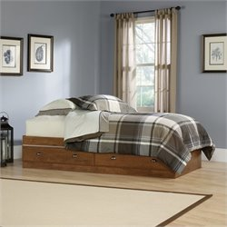 Sauder Shoal Creek Twin Mates Bed in Oiled Oak