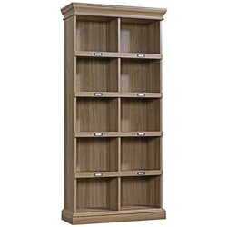 Tall Bookcase in Salt Oak