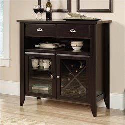 Sauder Shoal Creek Sideboard in Jamocha Wood