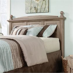 Sauder Harbor View Full and Queen Panel Headboard in Salt Oak