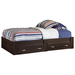 Twin Platform Bed in Cinnamon Cherry