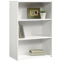 Sauder Beginnings Bookcase in Soft White