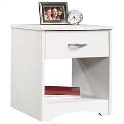Nightstand in Soft White