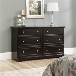 6 Drawer Dresser in Wind Oak