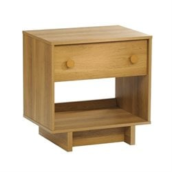 Nightstand in Pale Oak