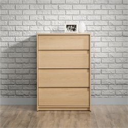 4 Drawer Chest in Urban Ash