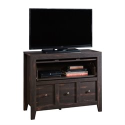 TV Stand in Char Pine