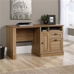 Computer Desk in Scribed Oak