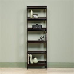 Sauder Beginnings 5 Shelf Storage Unit in Cinnamon Cherry