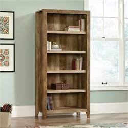 5 Shelf Bookcase in Craftsman Oak