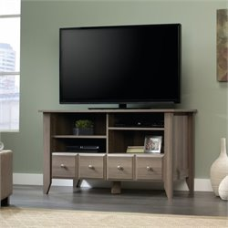 Sauder Shoal Creek TV Stand in Diamond Ash