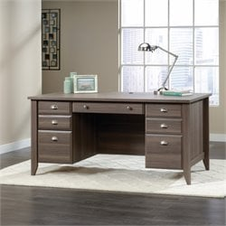Sauder Shoal Creek Executive Desk in Diamond Ash