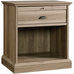 Nightstand in Salt Oak