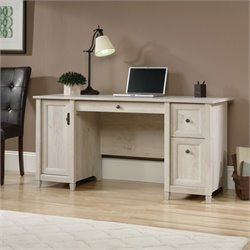 Computer Desk in Chalked Chestnut