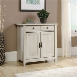 Sauder Edge Water 2 Door Chest in Chalked Chestnut