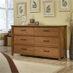 6 Drawer Dresser in Milled Cherry