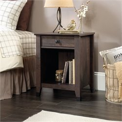 Nightstand in Coffee Oak