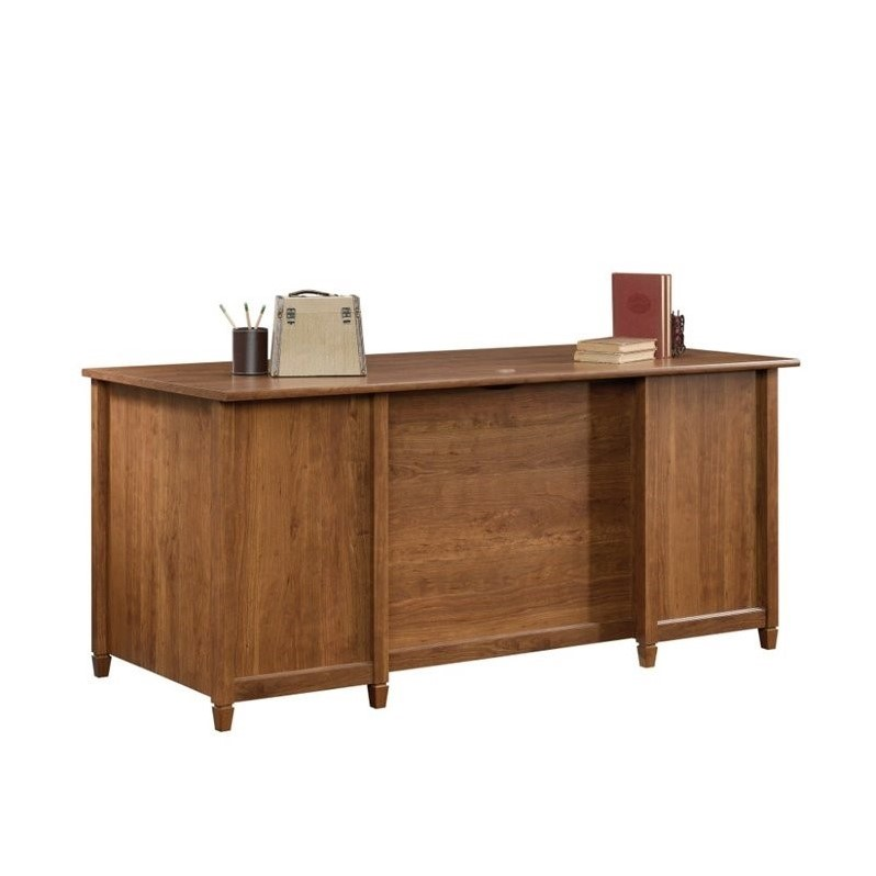 Executive Desk In Auburn Cherry 419100