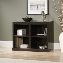 2 Shelf Bookcase in Jamocha Wood