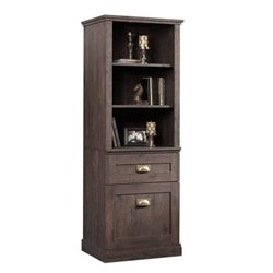 Tall 3 Shelf Bookcase in Coffee Oak