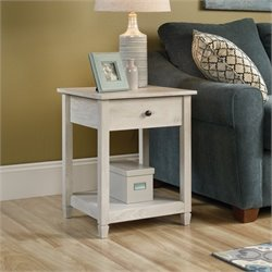 End Table in Chalked Chestnut