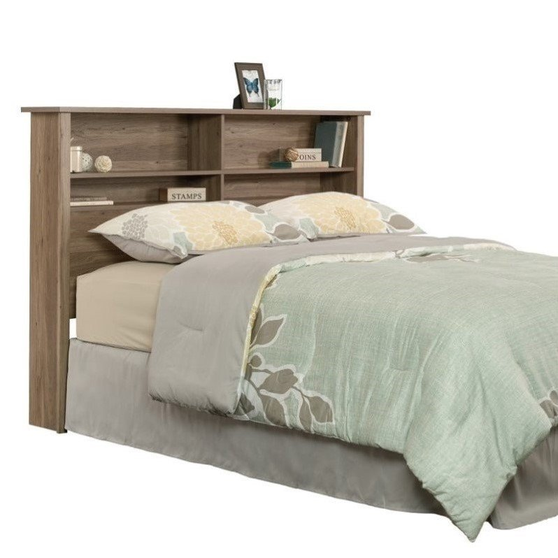 cheap headboards for queen beds and footboards bookcase headboard in salt oak 419321 2351