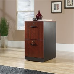 2 Drawer File Cabinet in Classic Cherry