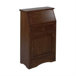 Regalia Secretary Desk in Antique Walnut