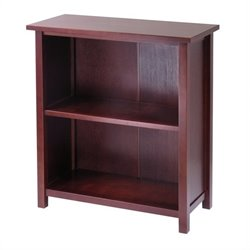3-Tier Medium Storage Shelf in Antique Walnut