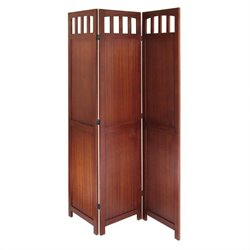 Folding Screen in Antique Walnut
