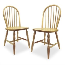 Dining Chair in Natural Finish (Set of 2)
