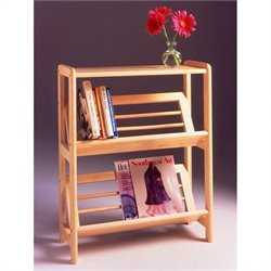 2-Tier Bookshelf in Natural