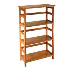 3-Tier Bookshelf in Honey