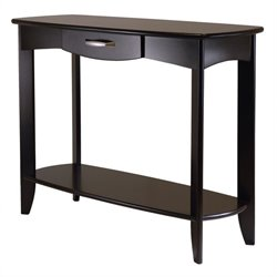 Console Table in Espresso