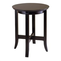 End Table in Dark Espresso Finish