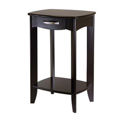 Side Table in Dark Espresso Finish