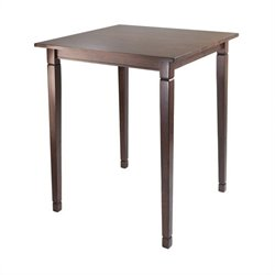 High Dining Table in Antique Walnut