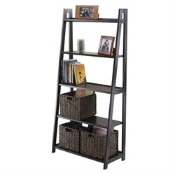 5-Tier A-Frame Shelf in Black