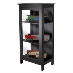 Display Curio Cabinet in Black