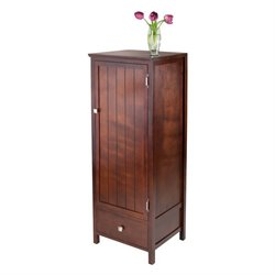 Close Cupboard with Drawer in Antique Walnut