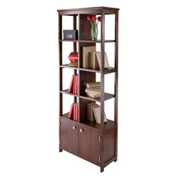 Display Curio Shelf in Antique Walnut
