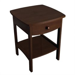 End Table / Nightstand in Antique Walnut