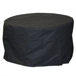 Outdoor GreatRoom Company Round Vinyl Cover for Colonial 48 Fire Pit