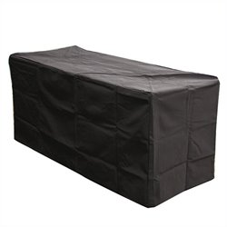 Outdoor GreatRoom Company Black Rectangular Vinyl Cover