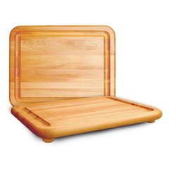 Catskill Craftsmen Jumbo Chopping Block Cutting Board in Birch