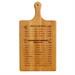 Catskill Craftsmen Paddle Cutting Board in Birch