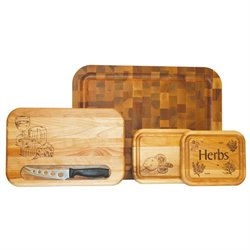 Catskill Craftsmen Gift Set Cutting Board in Birch
