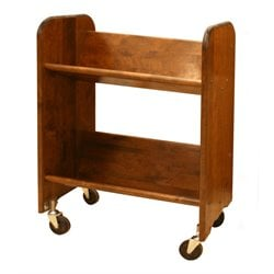 Catskill Craftsmen Bookmaster Book Rack in Walnut Stained Birch